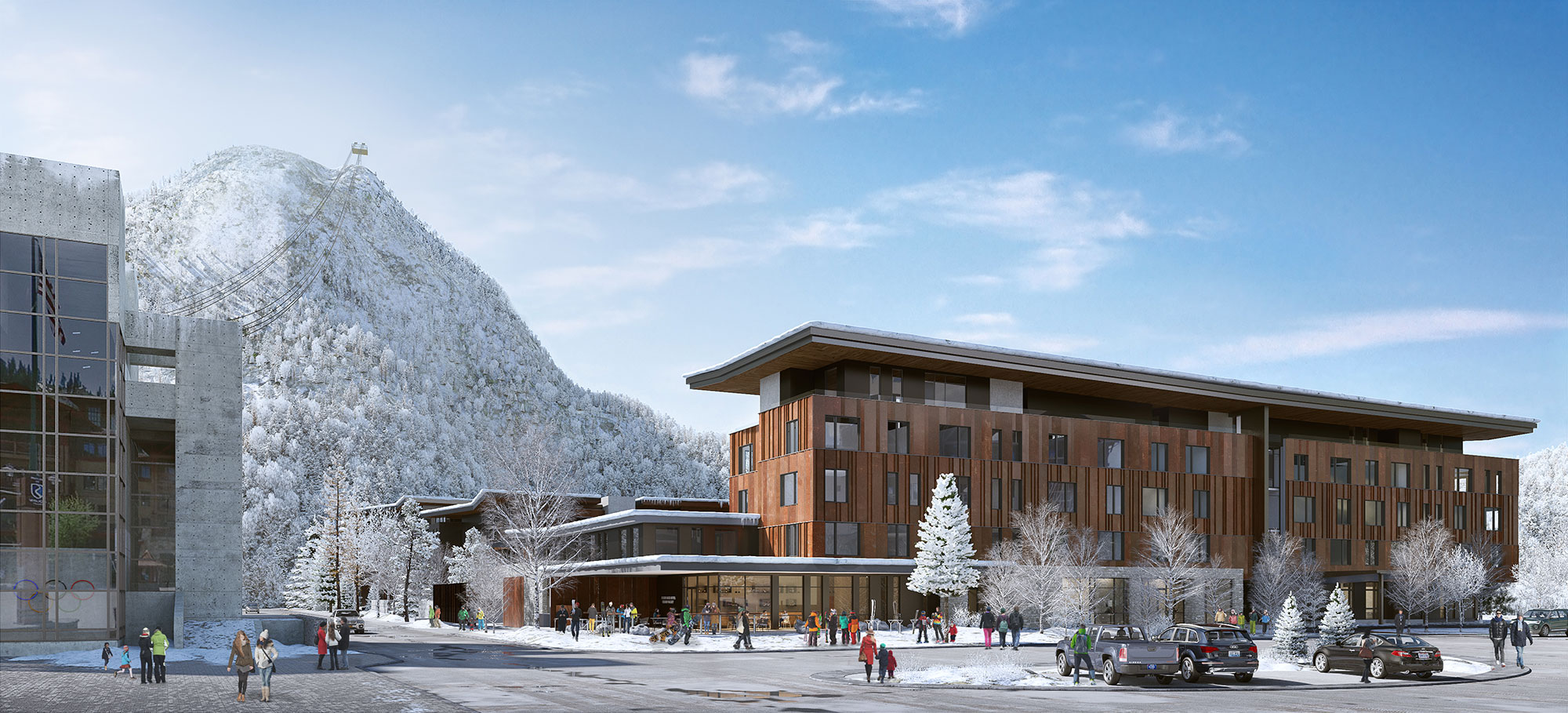 Unique Lifestyle Experience at PlumpJack Squaw Valley Building