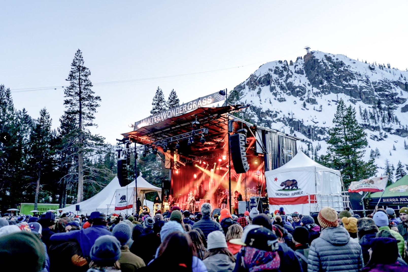 Enjoy the Squaw Valley Live Entertainment Concert