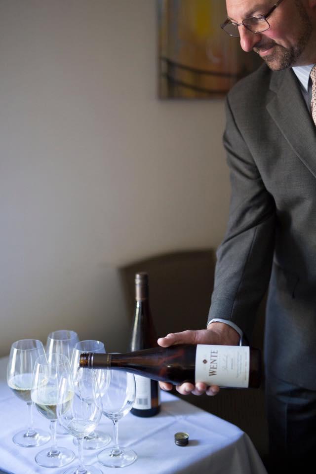 PlumpJack Cafe's Wine Director Jason Schulz